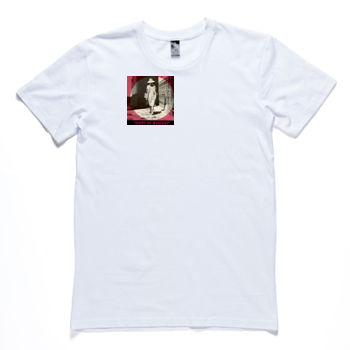 Mystery Woman Men's Crew Neck Tee Thumbnail