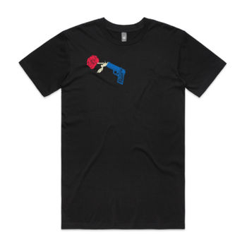 Scent of Mystery Men's Black Crew Neck Tee Thumbnail