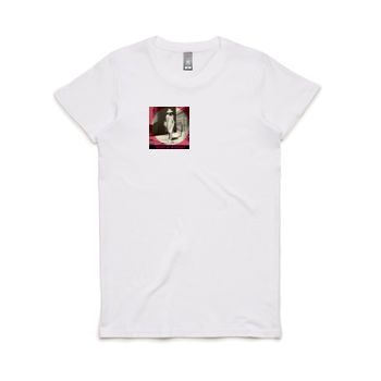 Mystery Woman Women's Crew Neck Tee Thumbnail