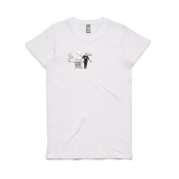 Hans & Smell Brain Women's Crew Neck Tee Thumbnail