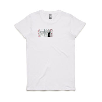 Hans in NYC Women's Crew Neck Tee Thumbnail